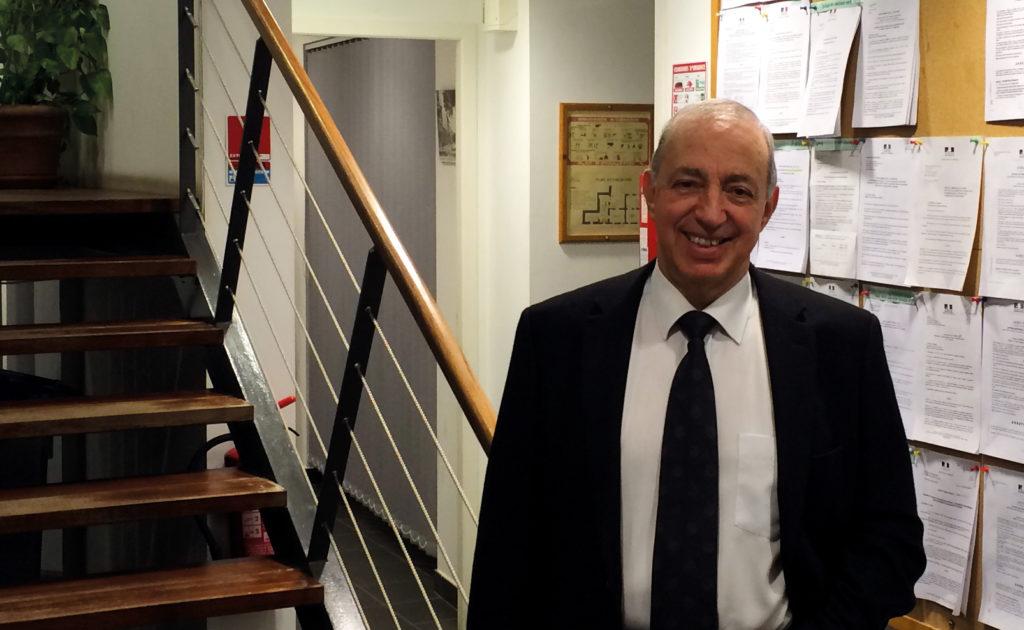 Gérard Saucles, maire de Lavilledieu